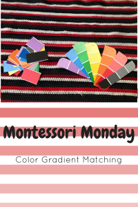 Montessori Mondays Color Gradient