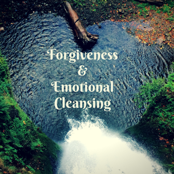 Forgiveness and emotional cleansing are vitally important to help us better manage stress, deal with difficult emotions and help our inner worlds and outer worlds to mesh.