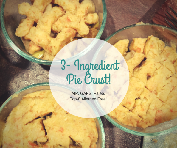 Delicious & super easy pie crust. Works great for all pies and pot pie!